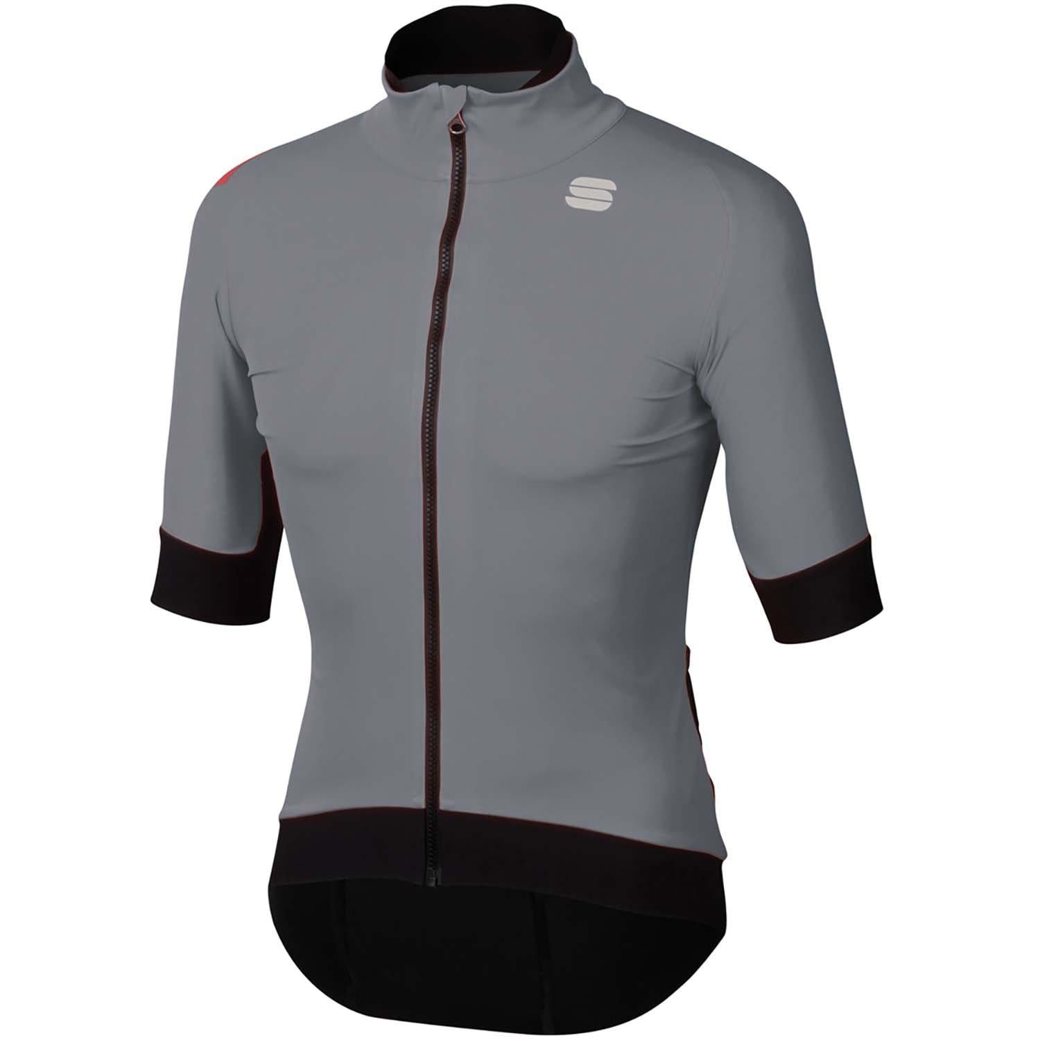 Sportful-Sportful Fiandre Pro Short Sleeve Jacket-Cement-S-SF195012502-saddleback-elite-performance-cycling