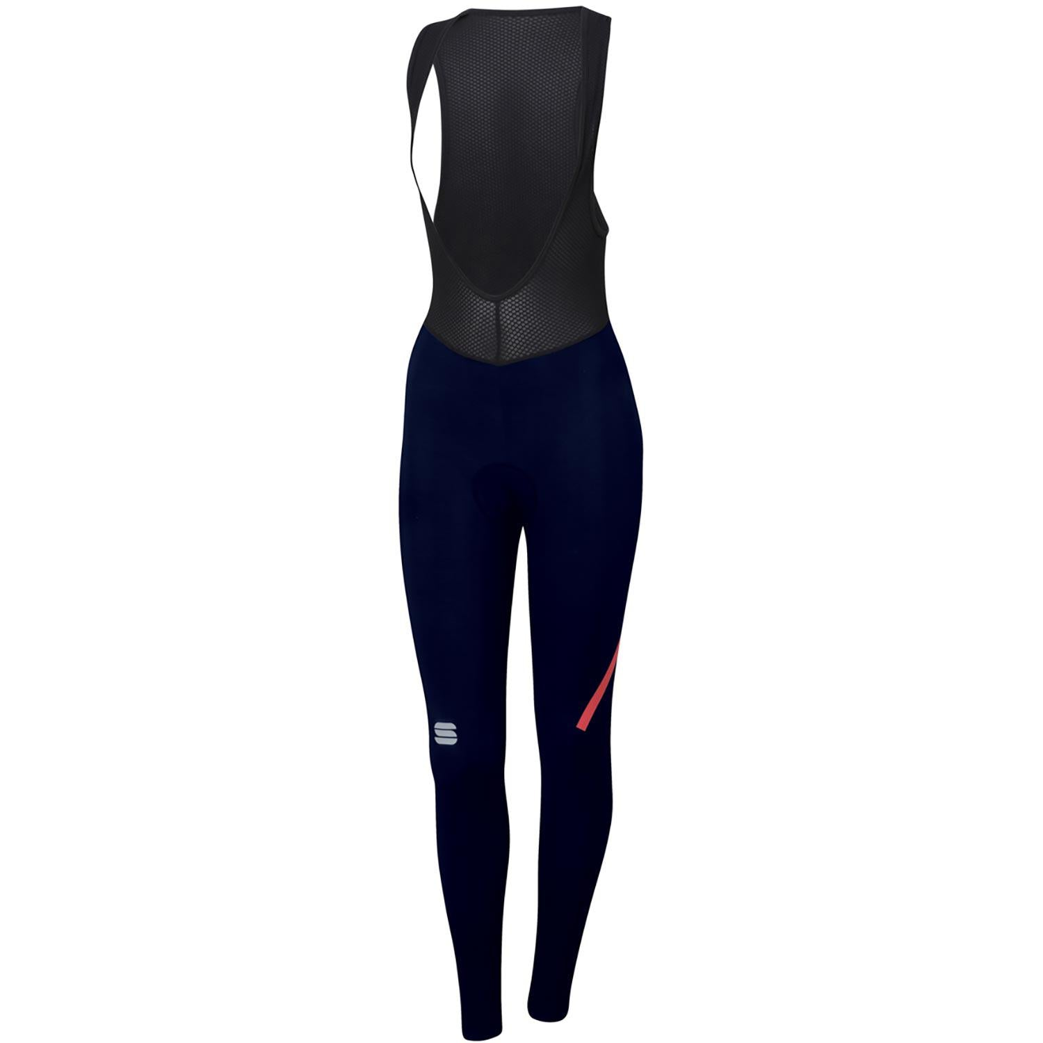 Sportful-Sportful Fiandre NoRain Women's Bibtights-Blue-XS-SF195320131-saddleback-elite-performance-cycling