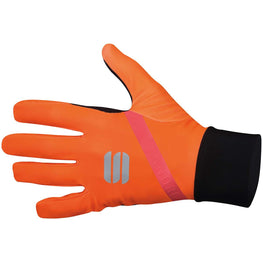 Sportful-Sportful Fiandre Light Gloves-Orange SDR-XS-SF195468501-saddleback-elite-performance-cycling