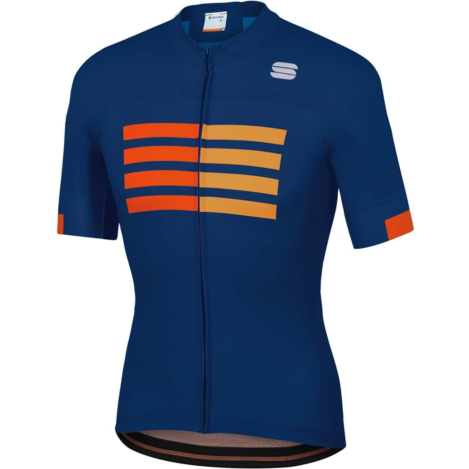 Sportful-Sportful Wire Jersey-Blue Twilight/Fire Red/Gold-S-SF200084332-saddleback-elite-performance-cycling