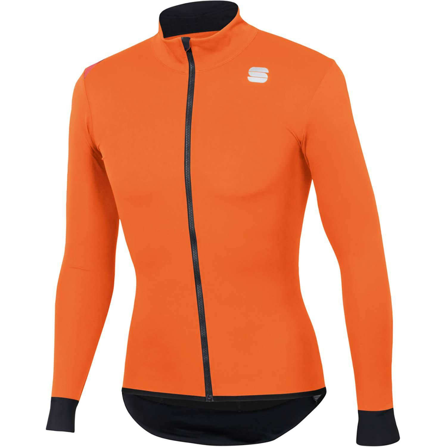 Sportful-Sportful Fiandre Light NoRain Jacket-Orange SDR-S-SF200218502-saddleback-elite-performance-cycling