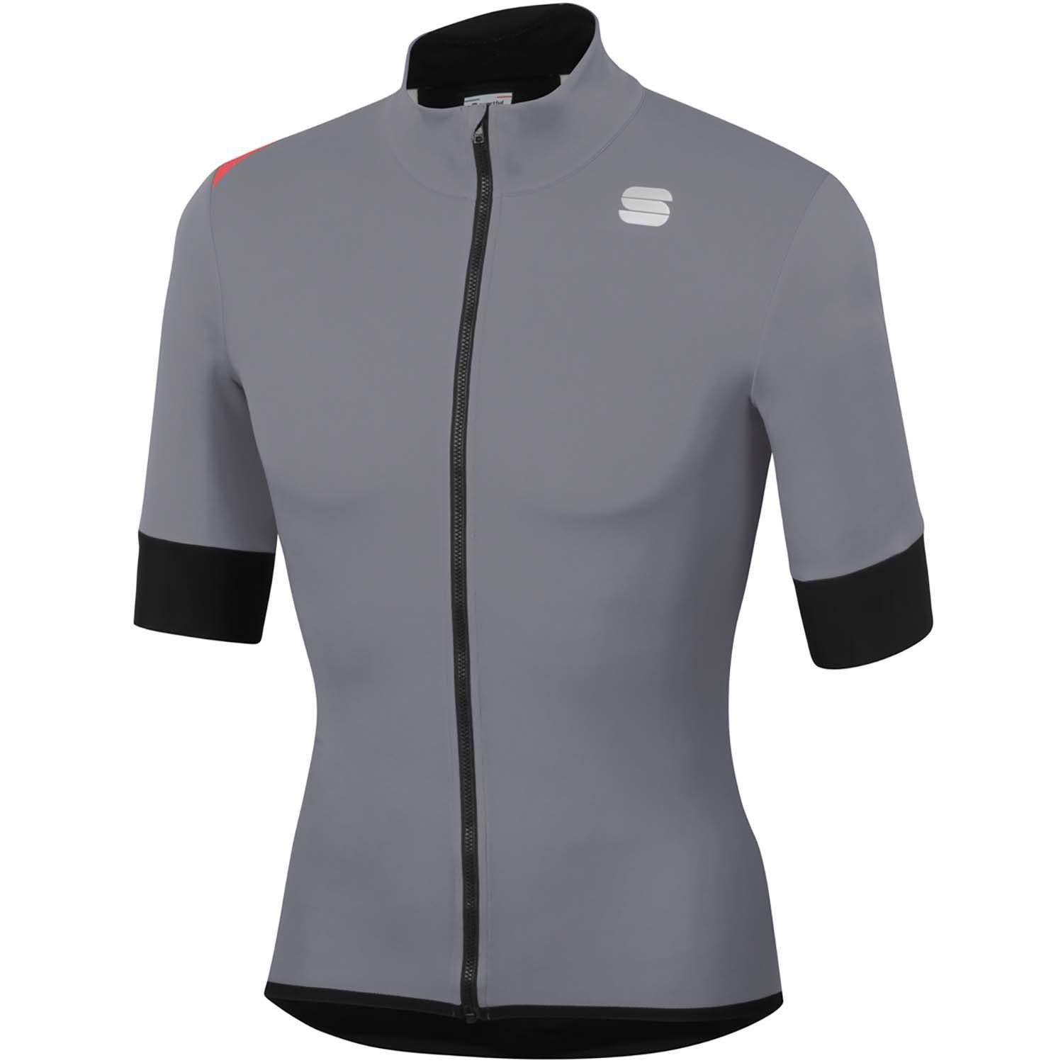 Sportful-Sportful Fiandre Light NoRain Short Sleeve Jacket-Cement-S-SF200222502-saddleback-elite-performance-cycling