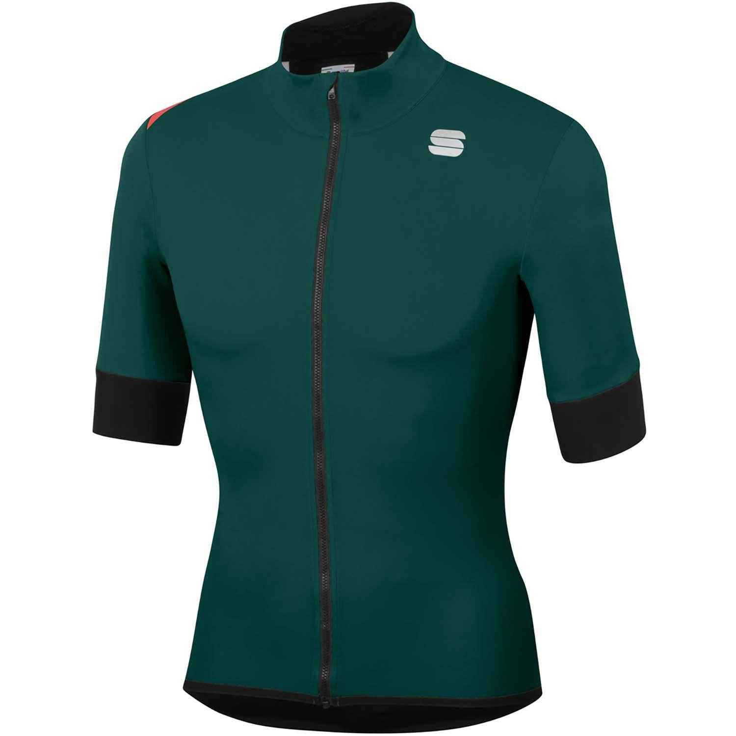 Sportful-Sportful Fiandre Light NoRain Short Sleeve Jacket-Sea Moss-S-SF200223292-saddleback-elite-performance-cycling