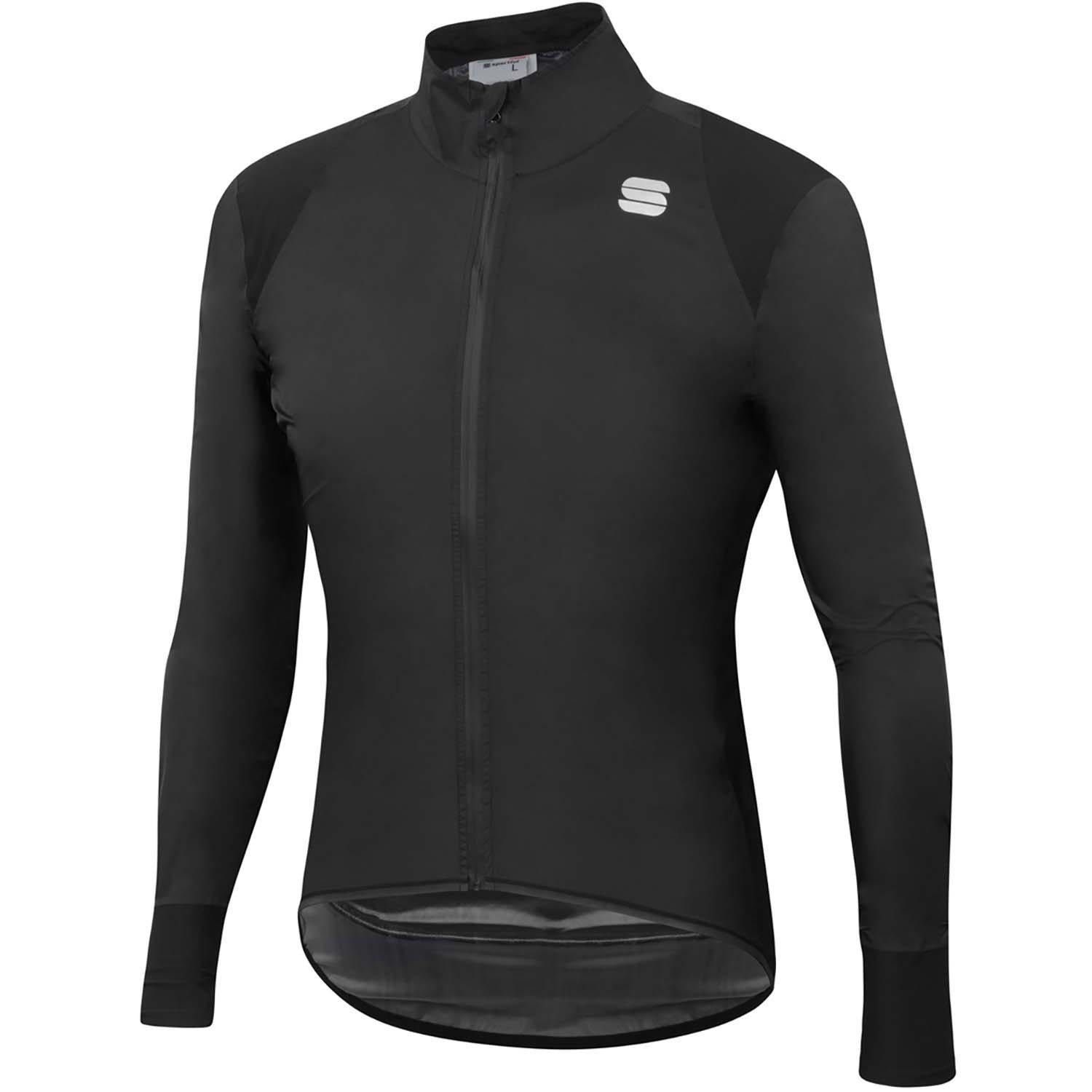Sportful-Sportful Hot Pack NoRain Jacket-Black-S-SF200250022-saddleback-elite-performance-cycling