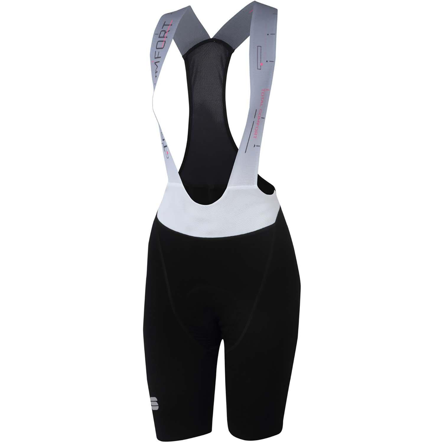 Sportful-Sportful Total Comfort Women's Bib Shorts-Black-XS-SF200380021-saddleback-elite-performance-cycling
