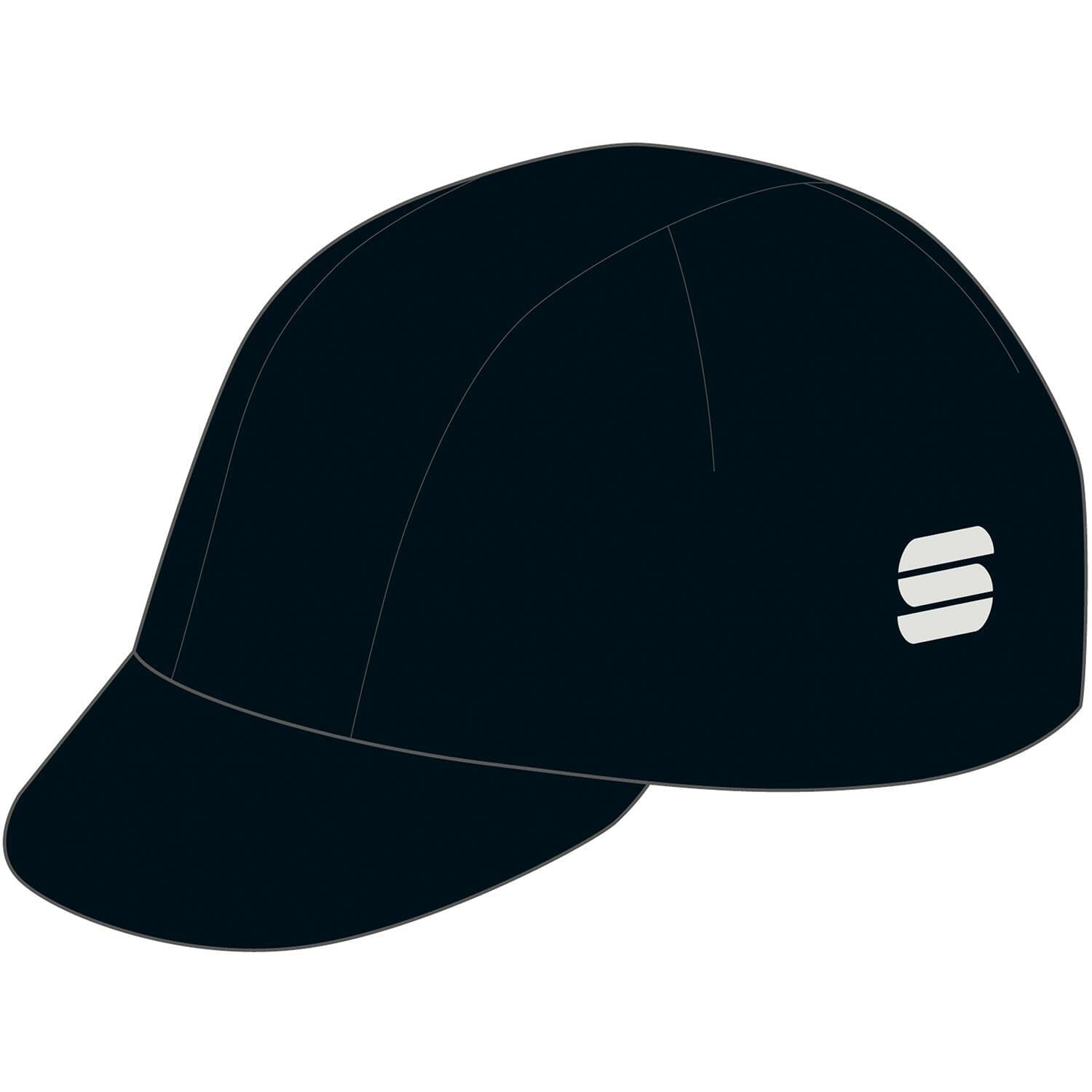 Sportful-Sportful Monocrom Cycling Cap-Anthracite-UNI-SF200491688-saddleback-elite-performance-cycling