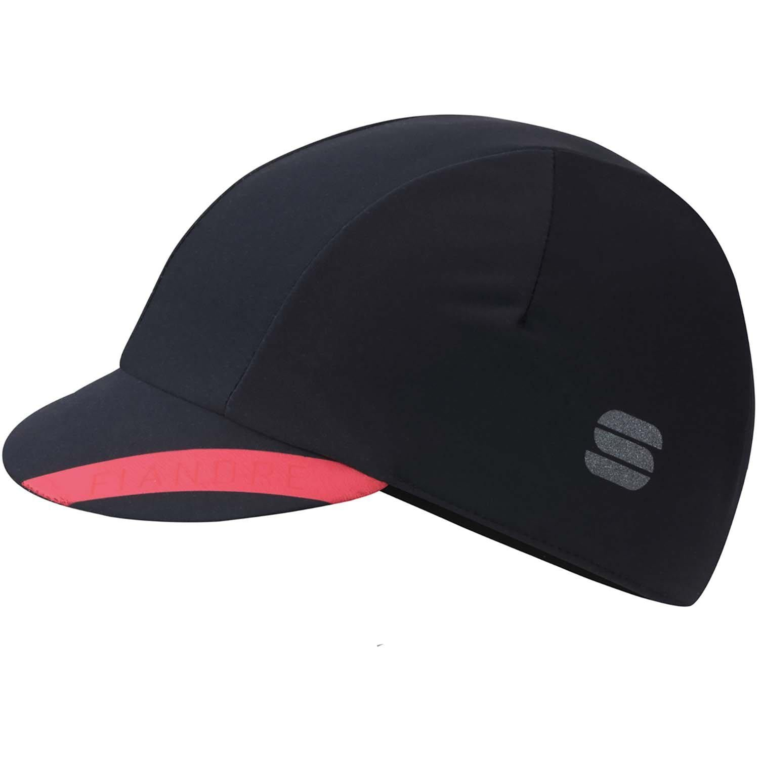 Sportful-Sportful Fiandre NoRain Cap-Black-UNI-SF200500028-saddleback-elite-performance-cycling
