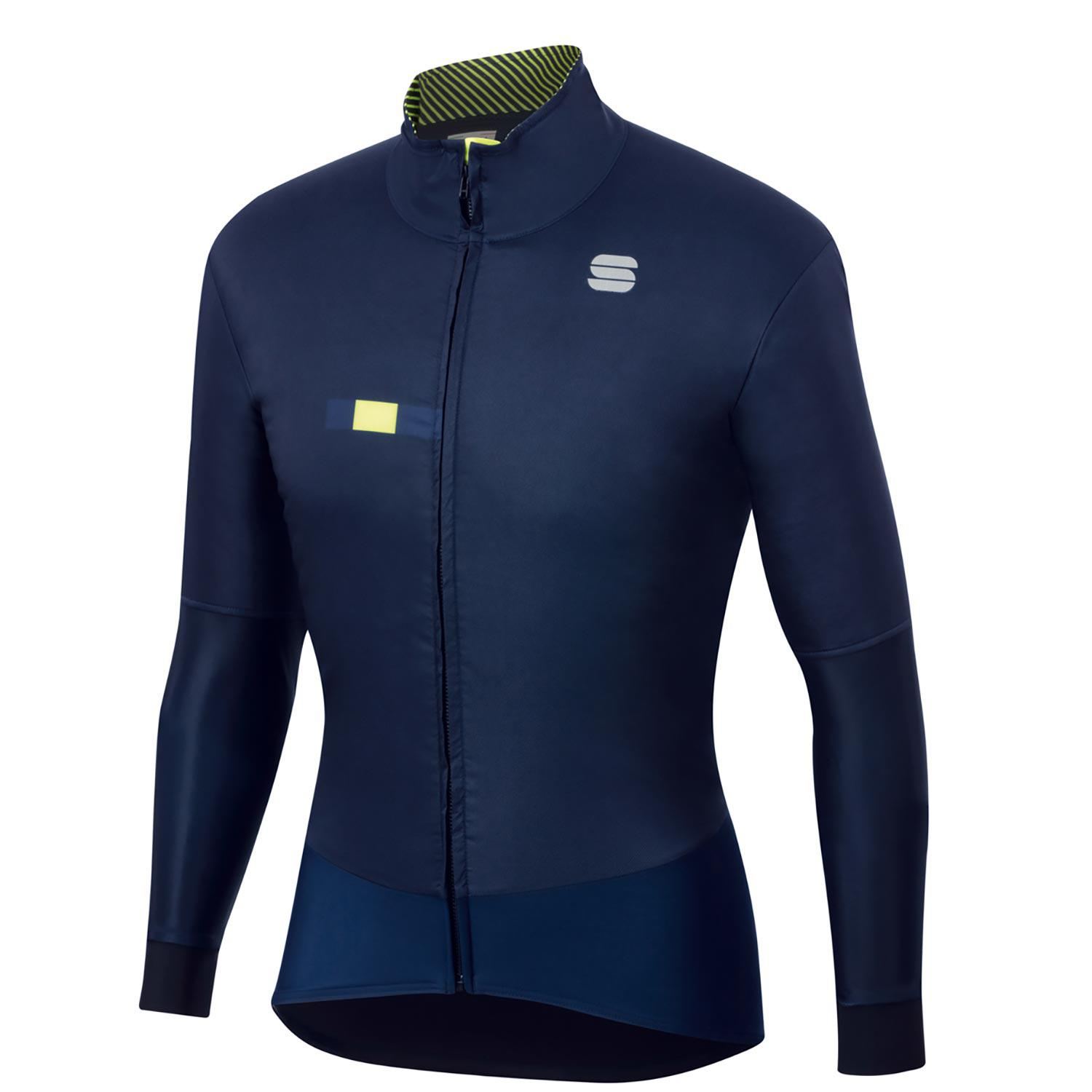 Sportful-Sportful BodyFit Pro Jacket-Blue/Yellow Fluo-S-SF205010132-saddleback-elite-performance-cycling