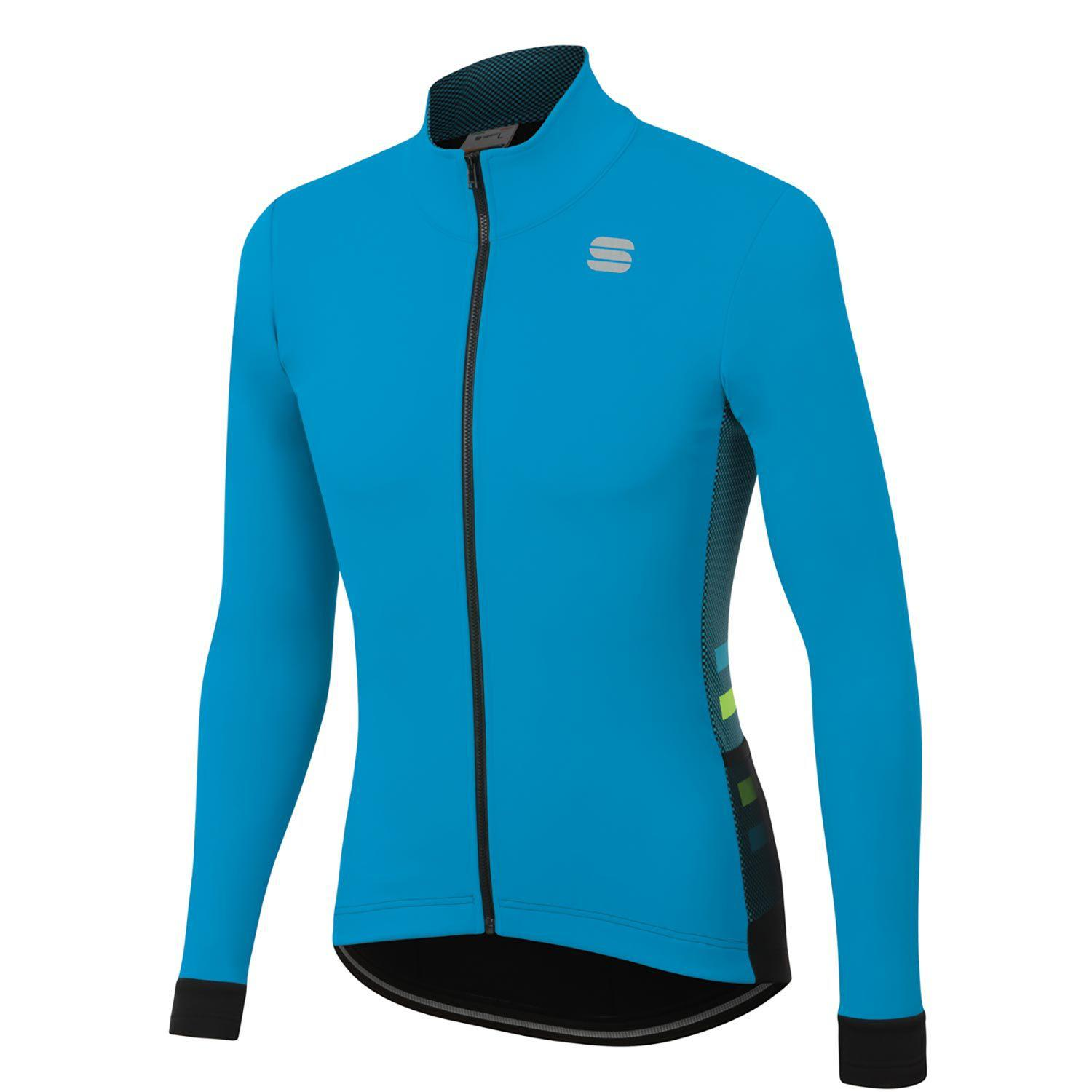Sportful-Sportful Neo Softshell Jacket-Blue Atomic/Black-S-SF205133982-saddleback-elite-performance-cycling