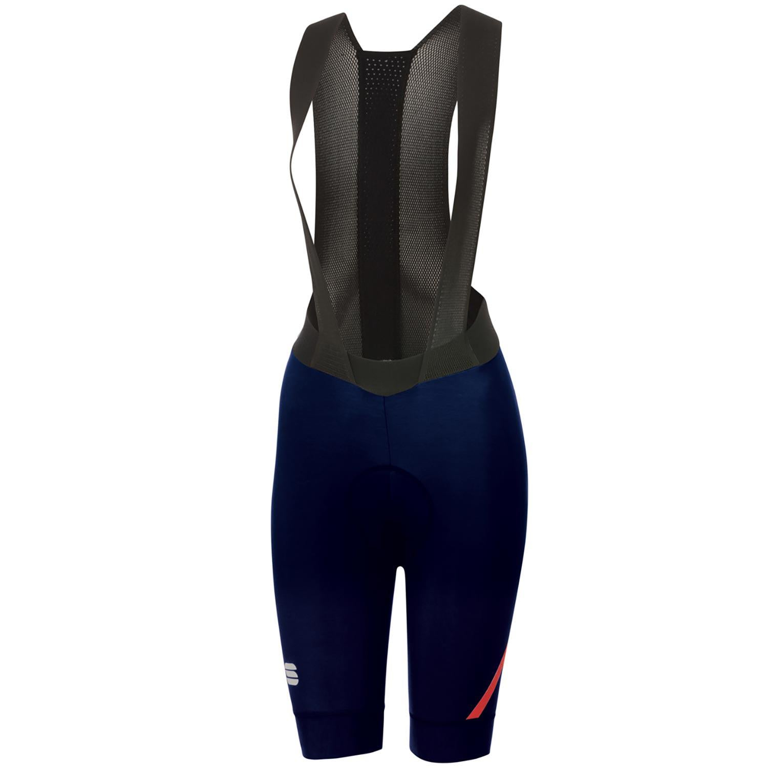 Sportful-Sportful Fiandre NoRain Women's Bib Shorts-Blue-XS-SF205200131-saddleback-elite-performance-cycling