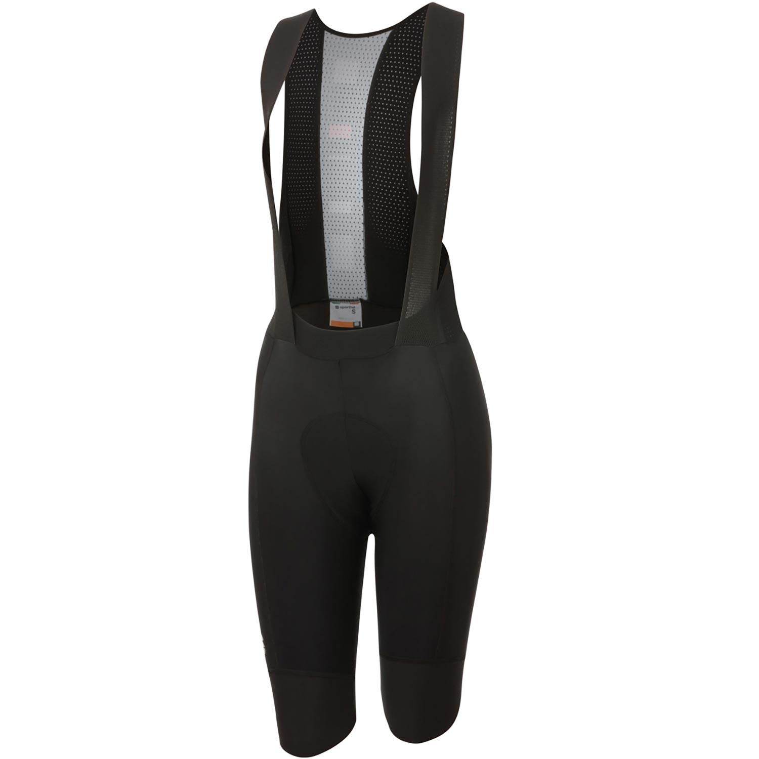 Sportful-Sportful BodyFit Pro Women's Thermal Bib Shorts-Black-XS-SF205240021-saddleback-elite-performance-cycling