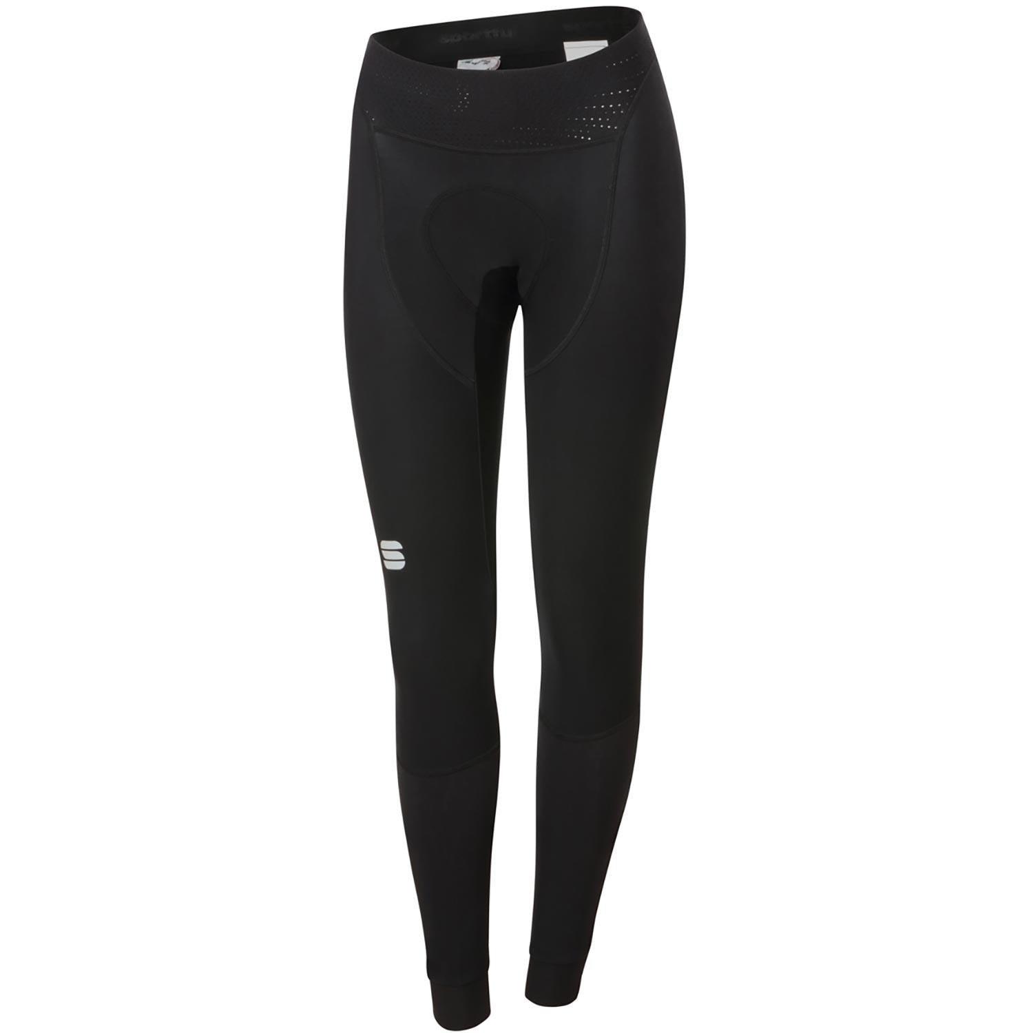 Sportful-Sportful Total Comfort Women's Tights-Black-XS-SF205310021-saddleback-elite-performance-cycling