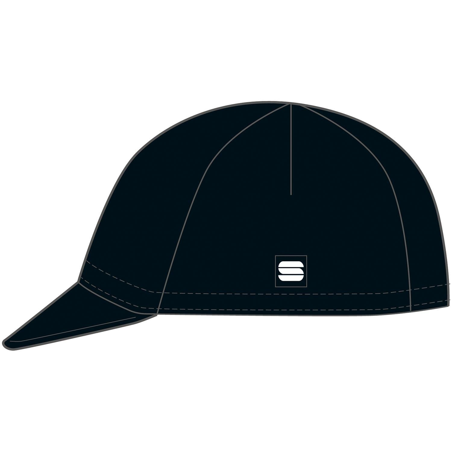 Sportful-Sportful Matchy Cycling Cap-Black-UNI-SF210380028-saddleback-elite-performance-cycling