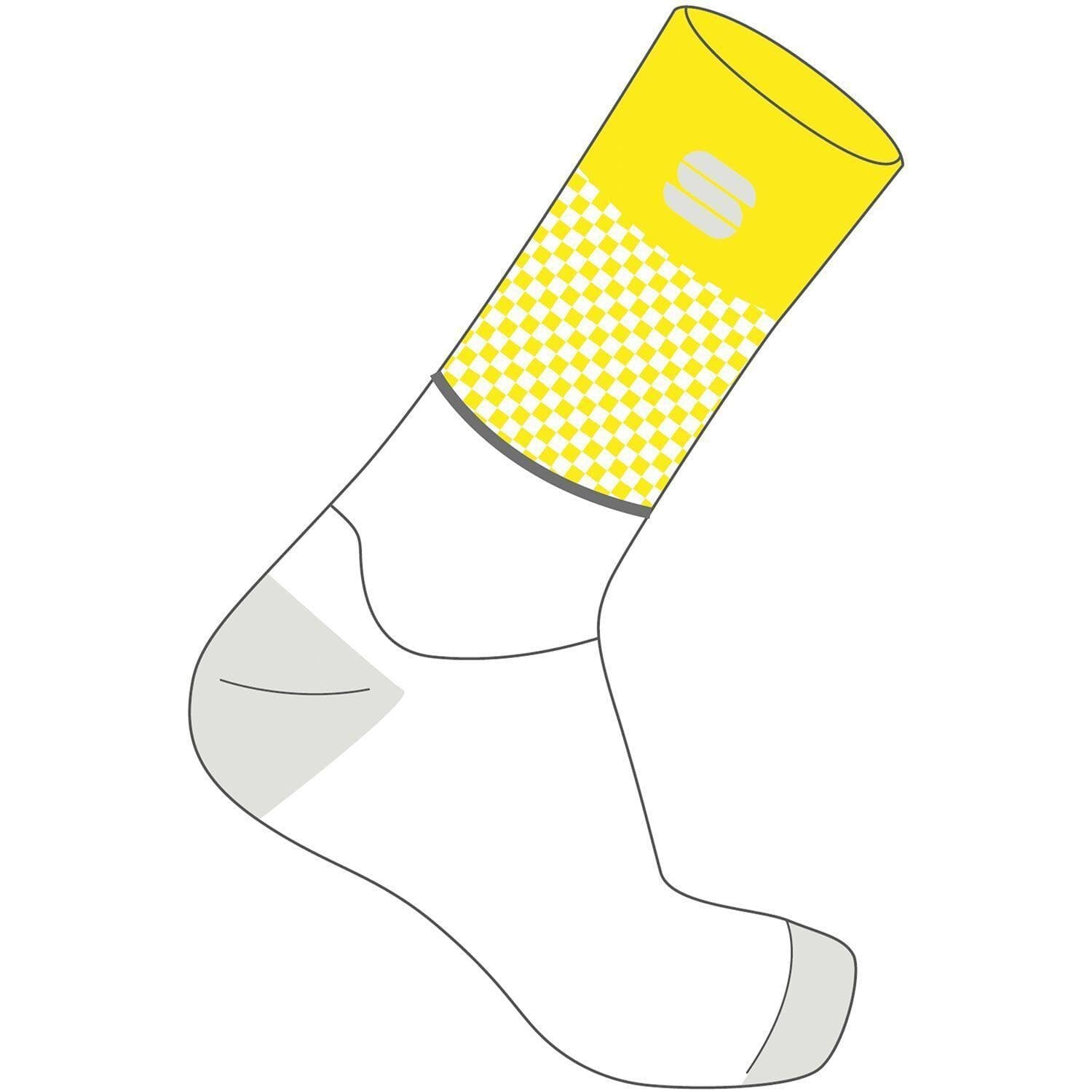 Sportful-Sportful Light Socks-Yellow Fluo-S-SF2104109112-saddleback-elite-performance-cycling