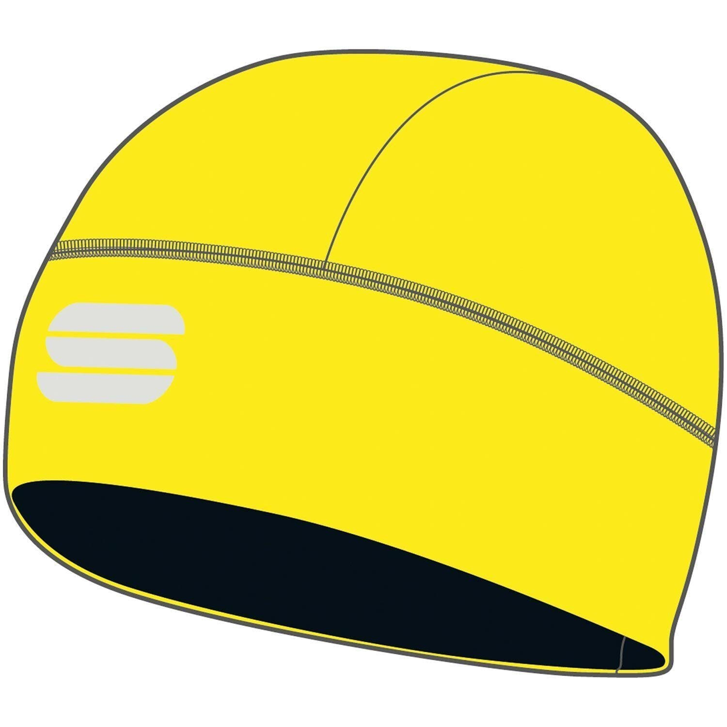 Sportful-Sportful Matchy Underhelmet-Yellow Fluo-UNI-SF210750918-saddleback-elite-performance-cycling