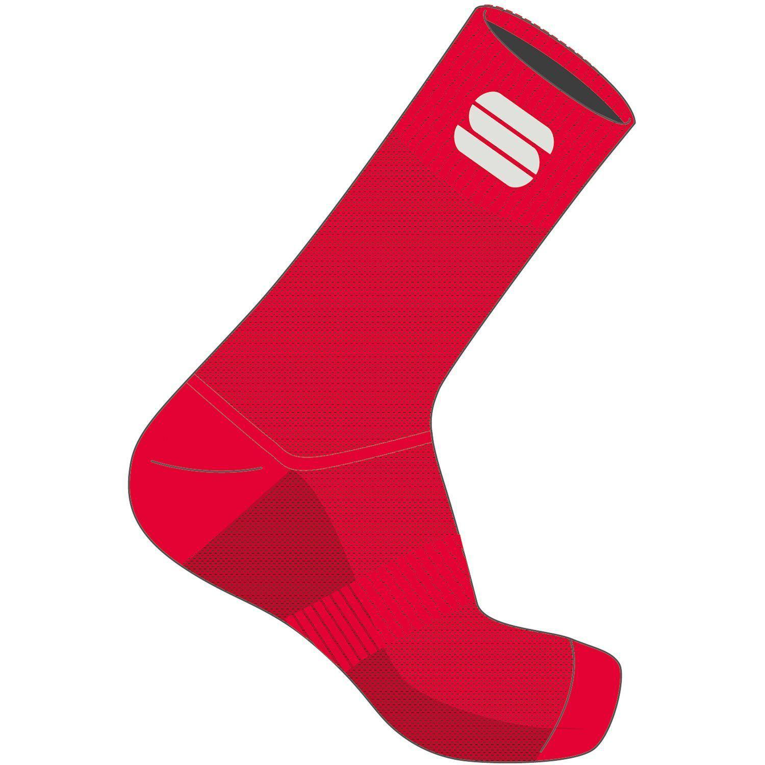 Sportful-Sportful Matchy Socks-Red-S-SF2107656712-saddleback-elite-performance-cycling
