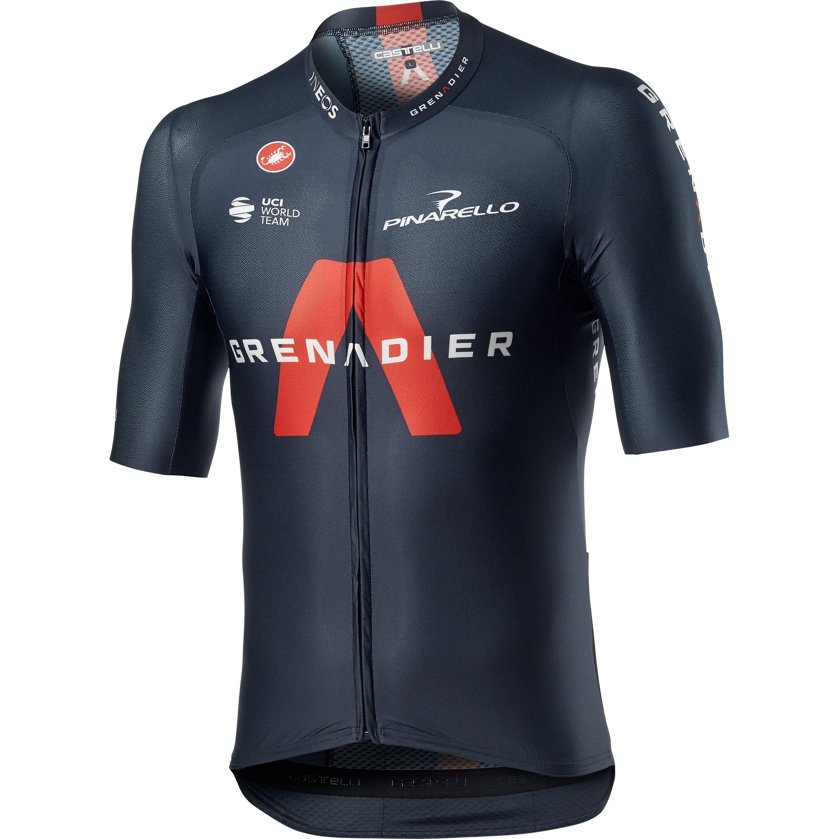 Castelli-Castelli INEOS Grenadiers Aero Race 6.1 Jersey-Savile Blue-XS-CS40310004141-saddleback-elite-performance-cycling
