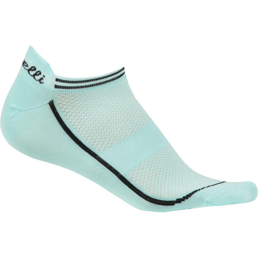 Castelli-Castelli Invisibile Women's Socks-Aruba Blue-S/M-CS1606202009-saddleback-elite-performance-cycling