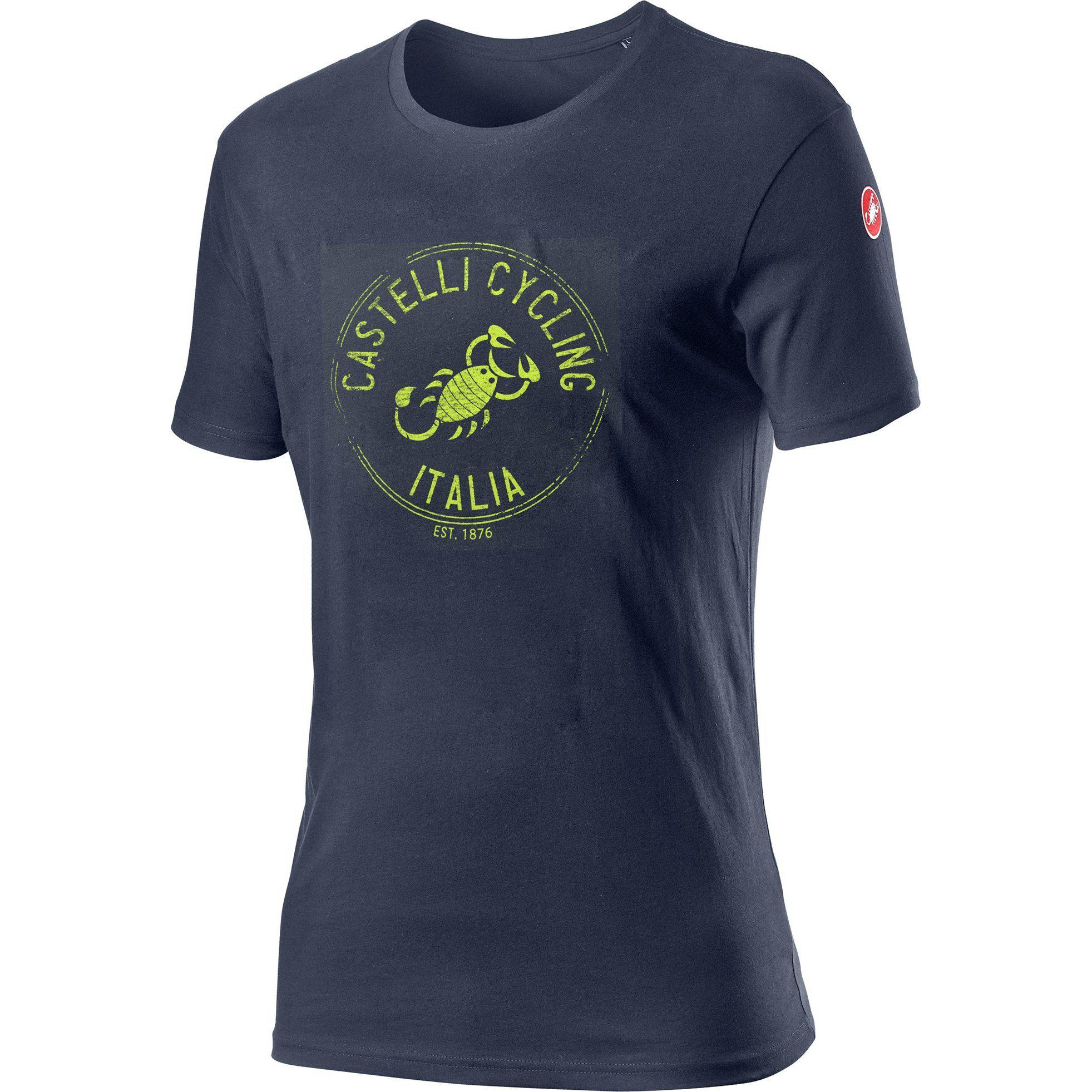 Castelli-Castelli Armando T-shirt-Dark Steel Blue-XS-CS160650701-saddleback-elite-performance-cycling