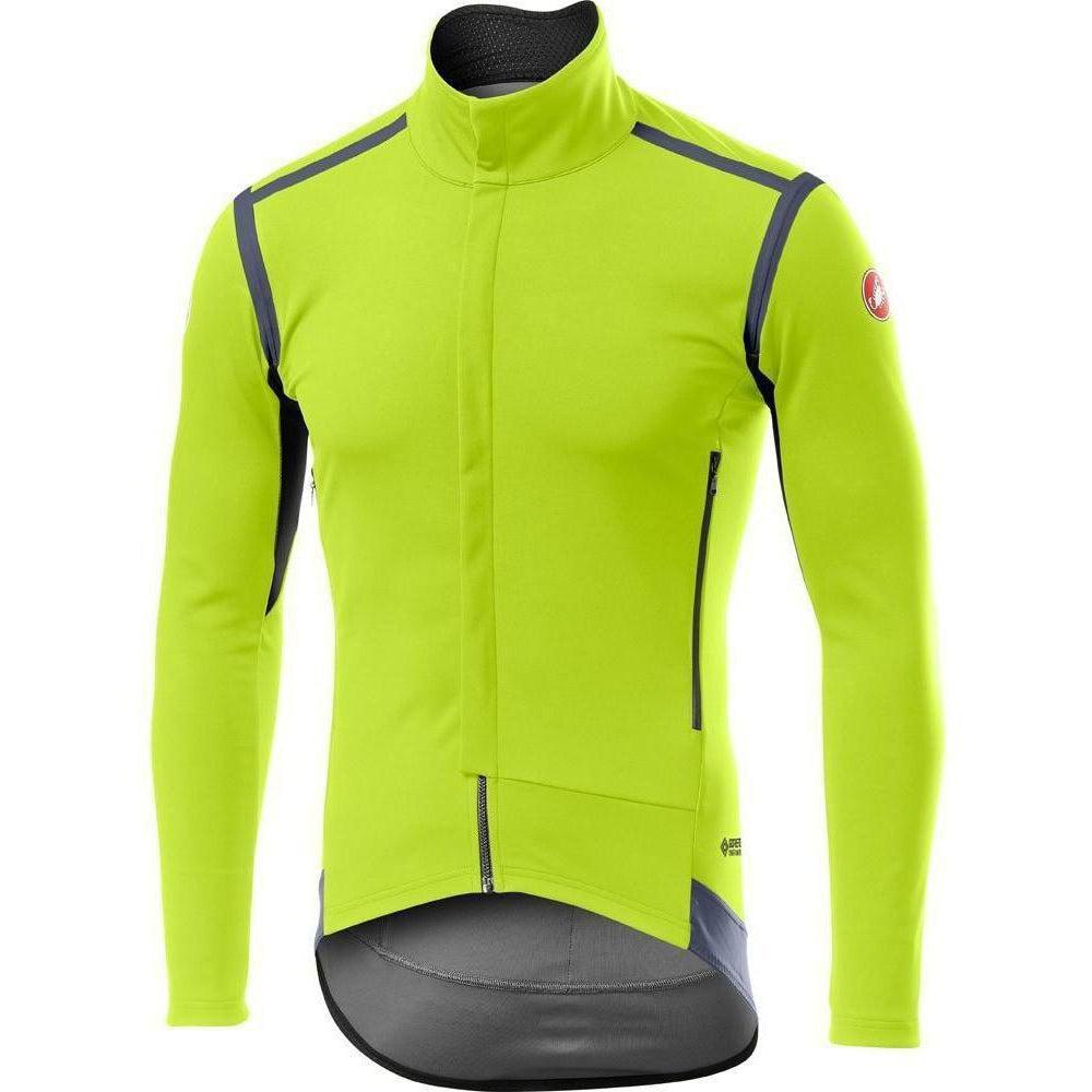Castelli-Castelli Perfetto RoS Long Sleeve Jacket-Yellow Fluo-S-CS195000322-saddleback-elite-performance-cycling