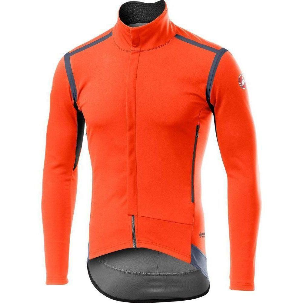 Castelli-Castelli Perfetto RoS Long Sleeve Jacket-Orange-S-CS195000342-saddleback-elite-performance-cycling