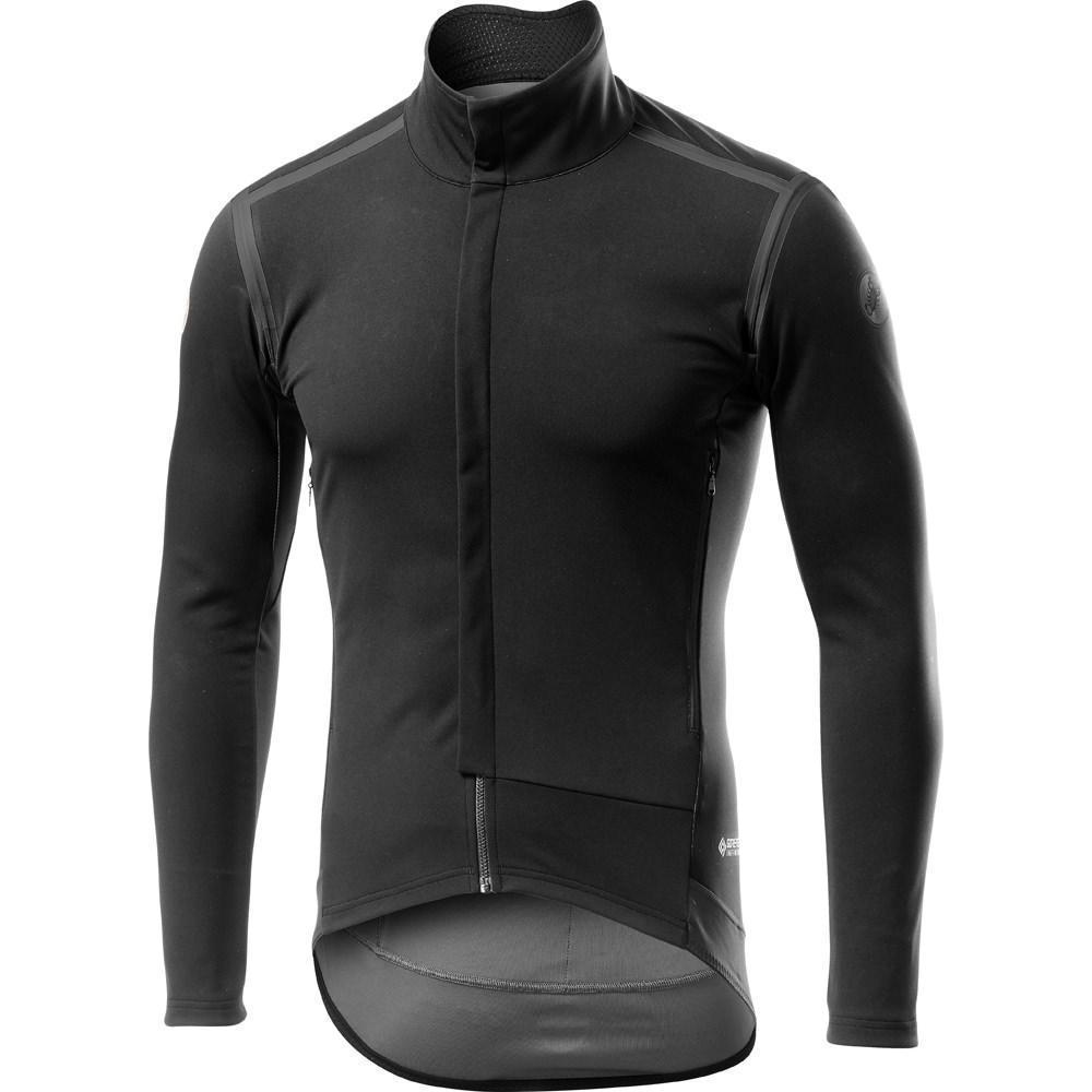Castelli-Castelli Perfetto RoS Long Sleeve Jacket Black Out Edition-Black Out-S-CS195007102-saddleback-elite-performance-cycling