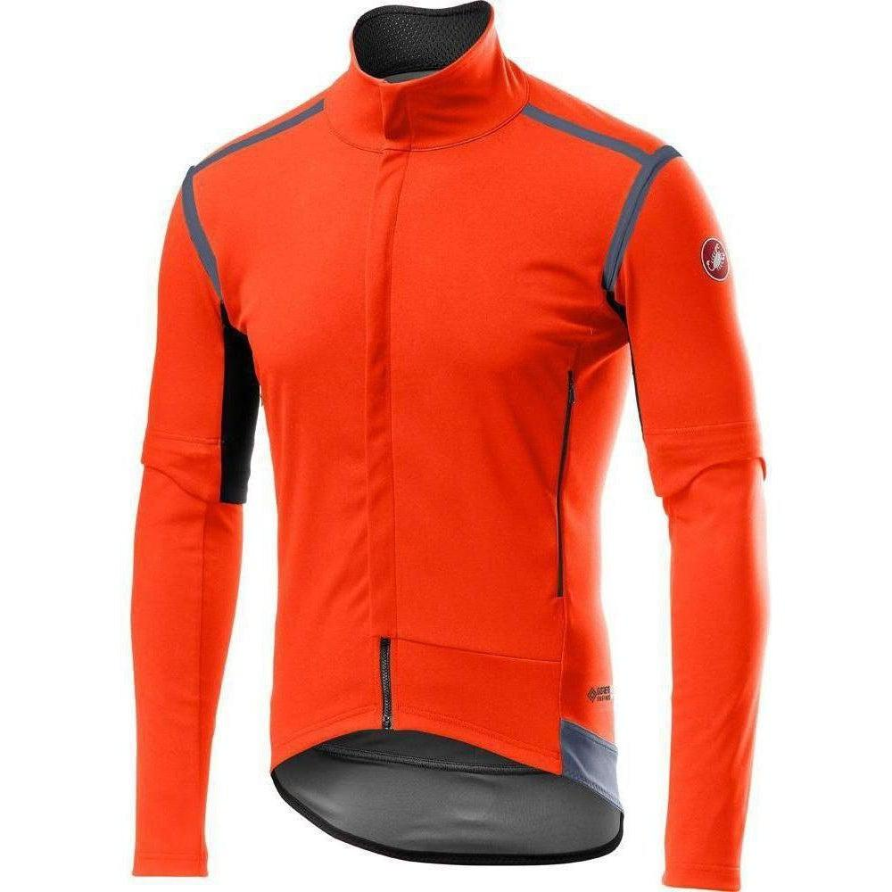 Castelli-Castelli Perfetto RoS Convertible Jacket-Orange-S-CS195010342-saddleback-elite-performance-cycling