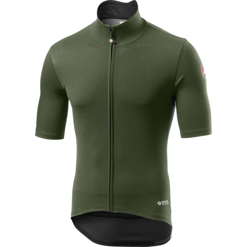 Castelli-Castelli Perfetto RoS Light Jersey-Military Green-S-CS195030752-saddleback-elite-performance-cycling