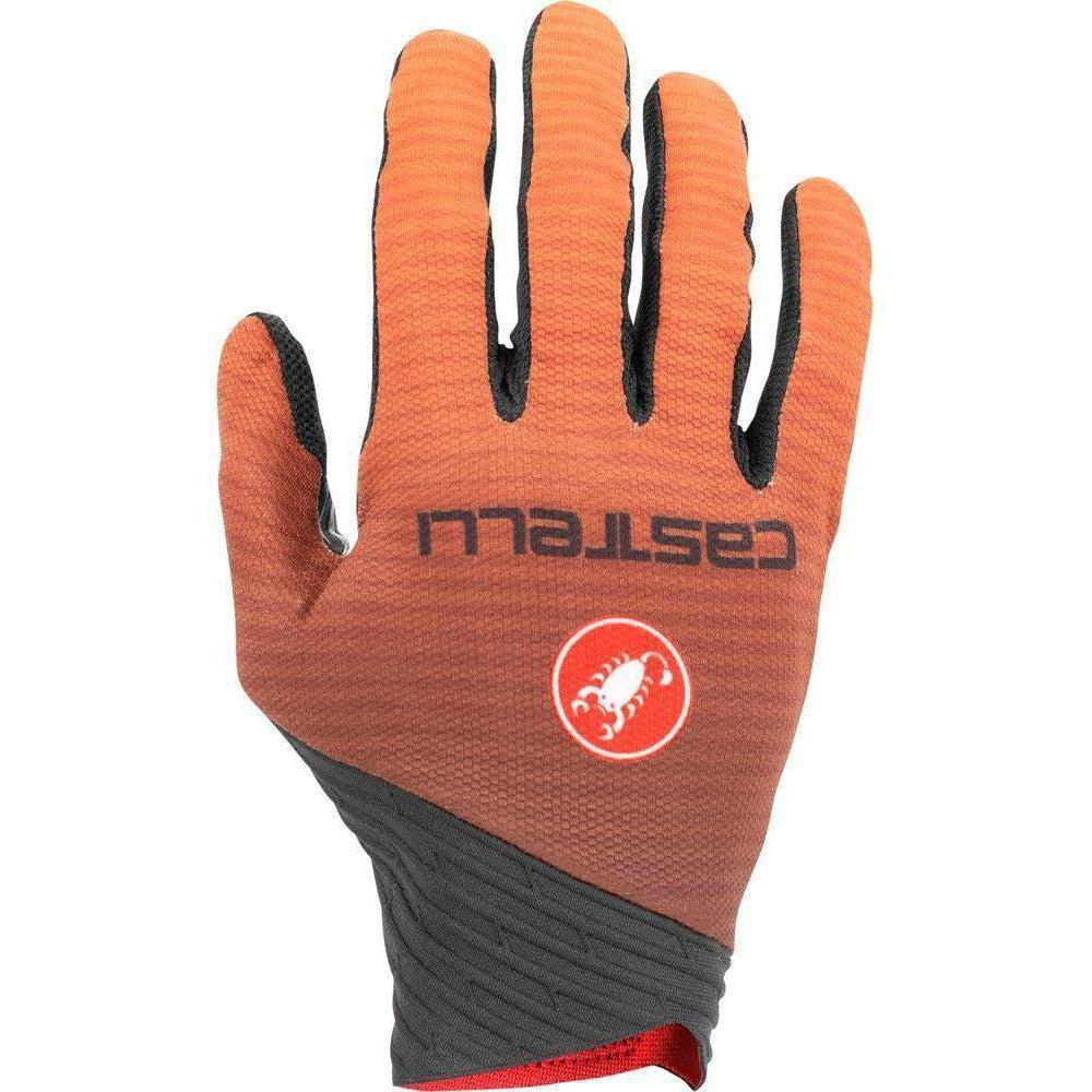 Castelli-Castelli CW 6.1 Cross Gloves-Orange-XS-CS195240341-saddleback-elite-performance-cycling