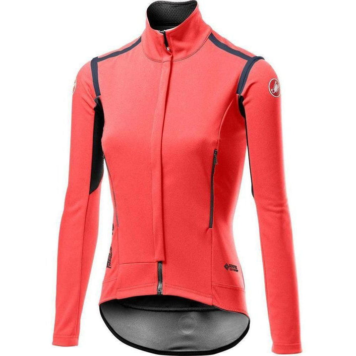 Castelli-Castelli Perfetto RoS Long Sleeve Women's Jacket-Brilliant Pink-XS-CS195352881-saddleback-elite-performance-cycling