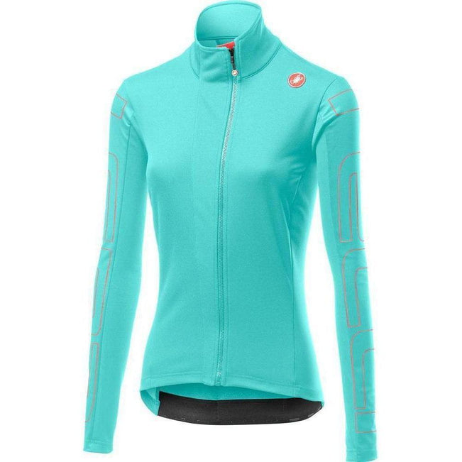Castelli-Castelli Transition Women's Jacket-Glacier Lake/Brilliant Pink-XS-CS195390161-saddleback-elite-performance-cycling