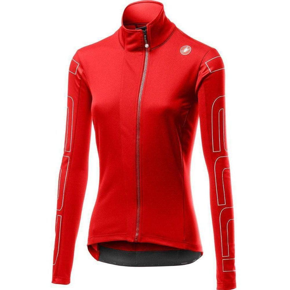 Castelli-Castelli Transition Women's Jacket-Red/Ivory-XS-CS195390231-saddleback-elite-performance-cycling