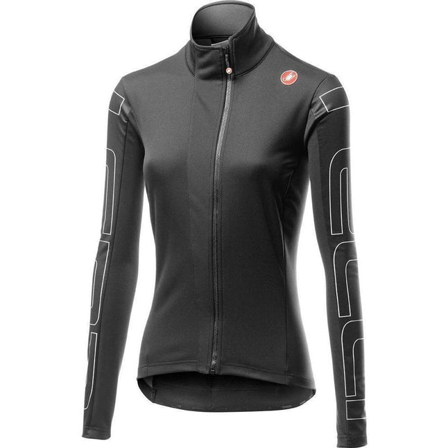 Castelli-Castelli Transition Women's Jacket-Light Black/Ivory-XS-CS195390851-saddleback-elite-performance-cycling