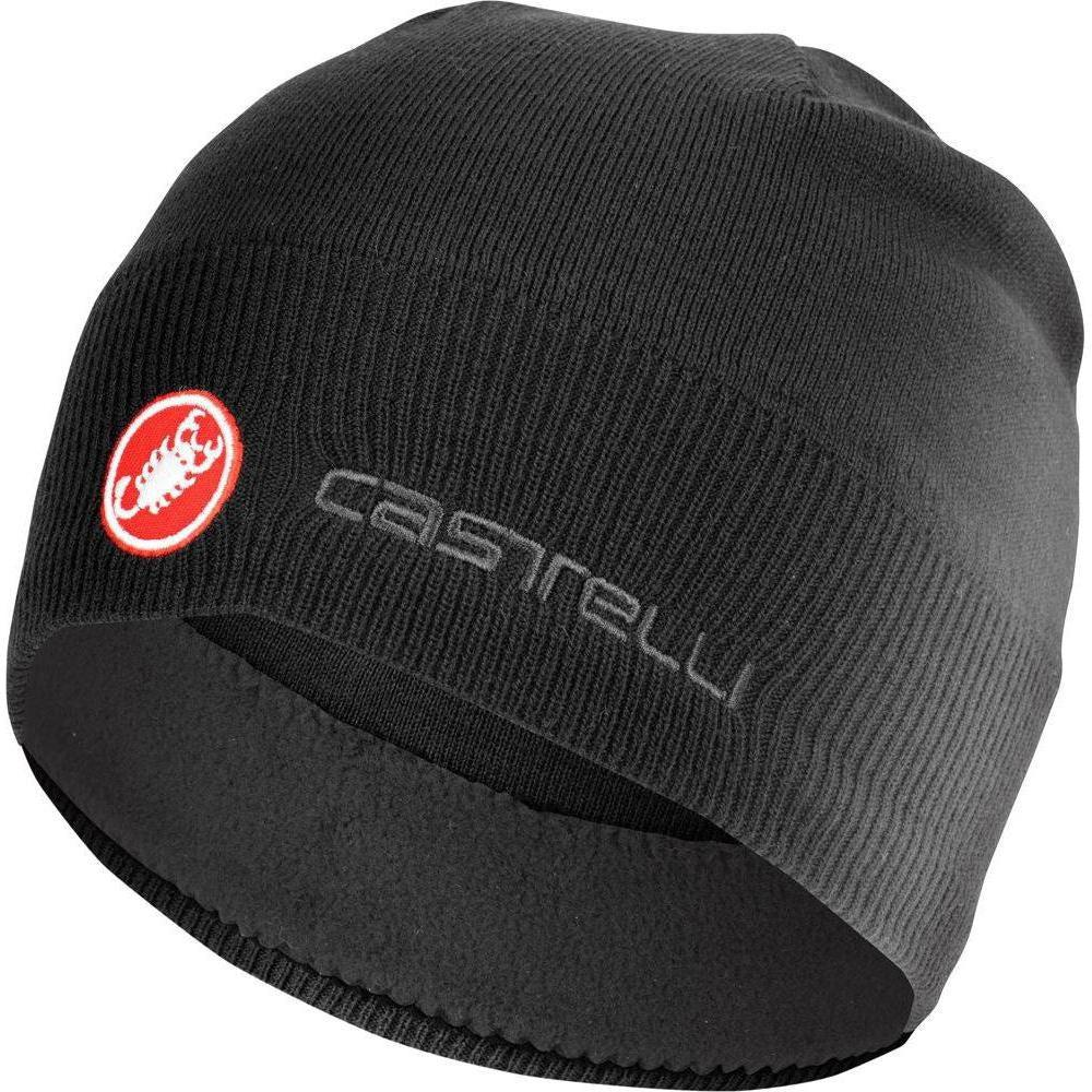 Castelli-Castelli GPM Beanie-Black-UNI-CS195540108-saddleback-elite-performance-cycling