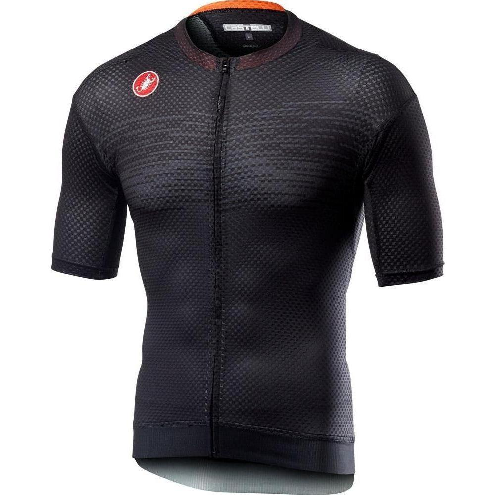 Castelli-Castelli Insider Jersey-Light Black-S-CS195740852-saddleback-elite-performance-cycling