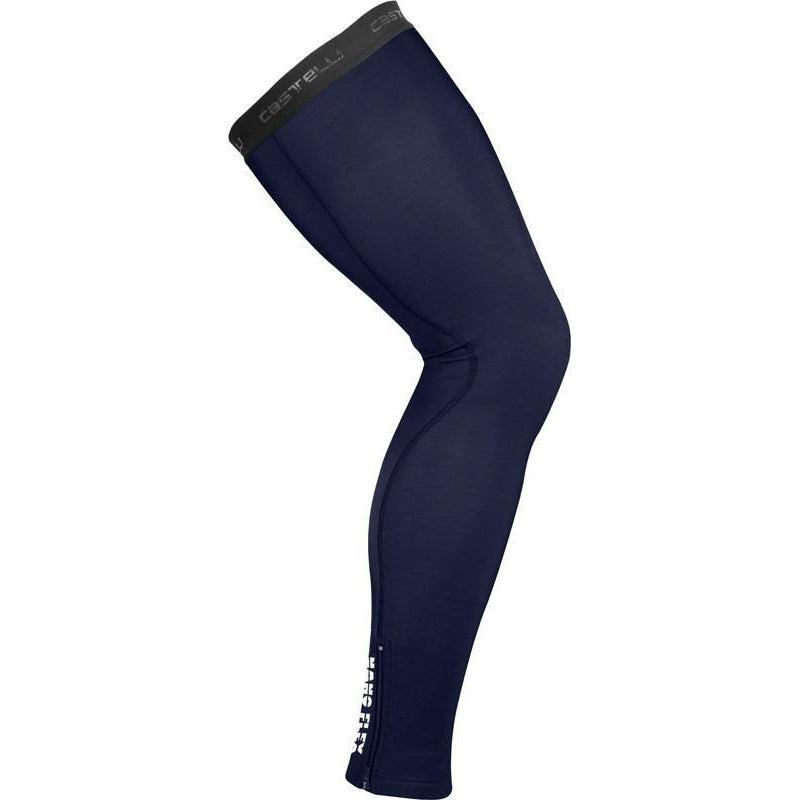 Castelli-Castelli Nano Flex 3G Leg Warmers-Savile Blue-S-CS195774142-saddleback-elite-performance-cycling