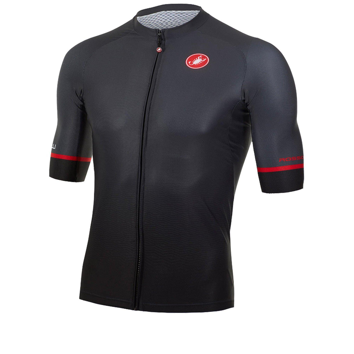 Castelli-Castelli Aero Race 6.0 Jersey-Dark Grey-XS-CS45200110301-saddleback-elite-performance-cycling