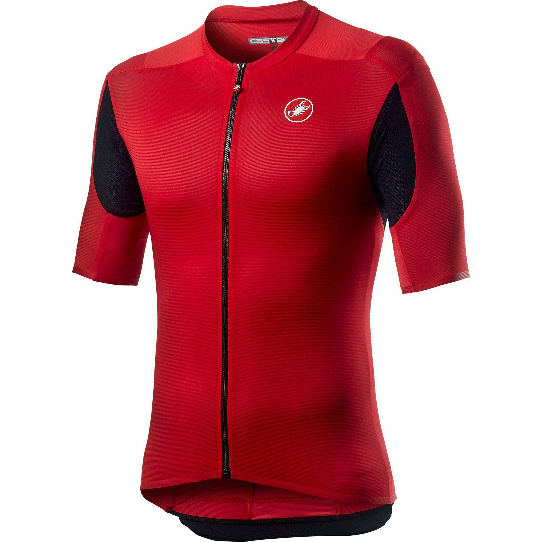 Castelli-Castelli Superleggera 2 Jersey-Red-XS-CS200170231-saddleback-elite-performance-cycling