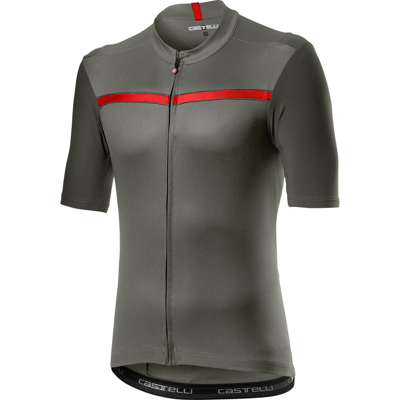Castelli-Castelli Unlimited Jersey-Forest Gray-XS-CS200230891-saddleback-elite-performance-cycling