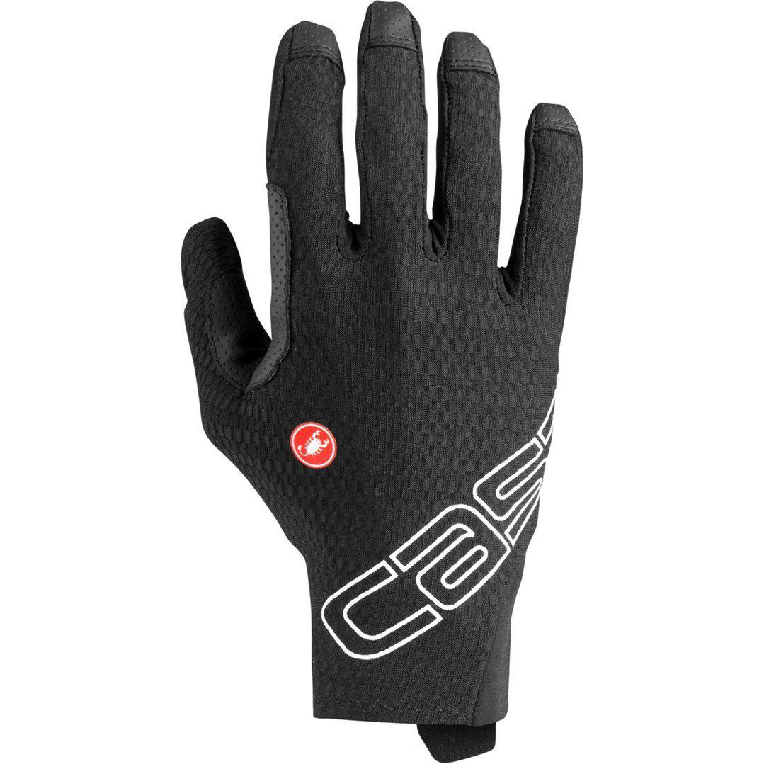 Castelli-Castelli Unlimited Long Finger Gloves-Black-XS-CS200340101-saddleback-elite-performance-cycling