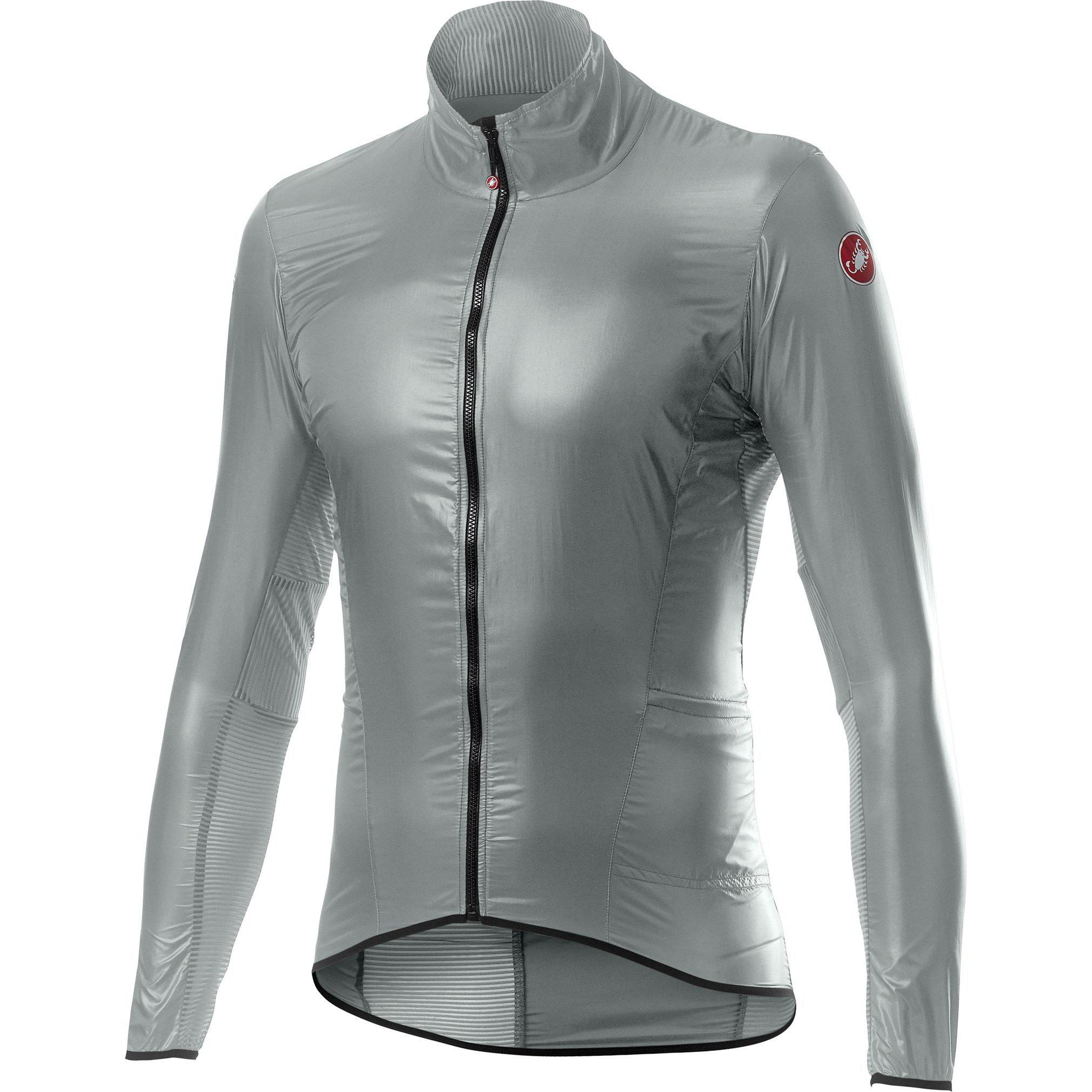 Castelli-Castelli Aria Shell Jacket-Silver Gray-S-CS200588702-saddleback-elite-performance-cycling