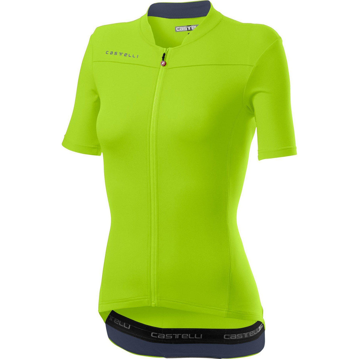 Castelli-Castelli Anima 3 Jersey-Chartreuse/Dark Steel Blue-XS-CS200683841-saddleback-elite-performance-cycling