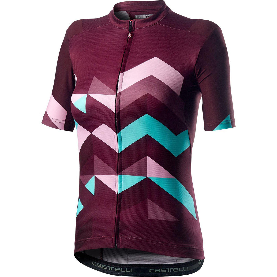 Castelli-Castelli Unlimited Women's Jersey-Sangria-XS-CS200761331-saddleback-elite-performance-cycling