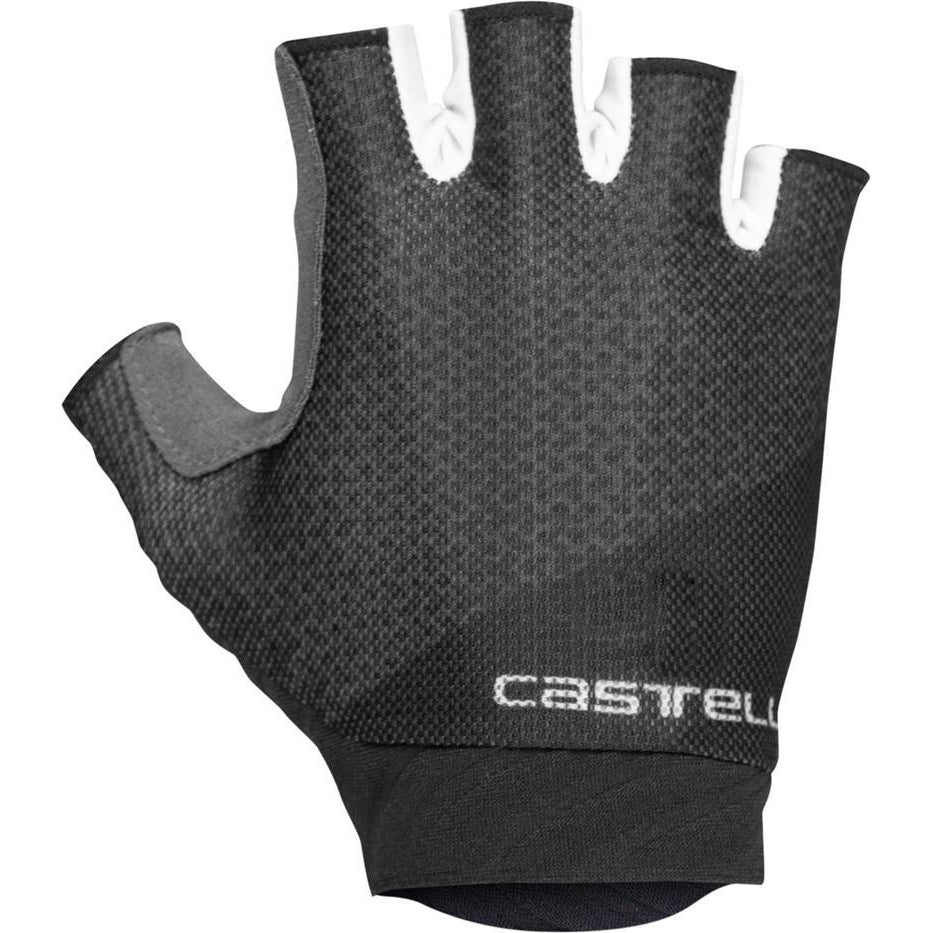 Castelli-Castelli Roubaix Gel 2 Gloves-Light Black-XS-CS200810851-saddleback-elite-performance-cycling