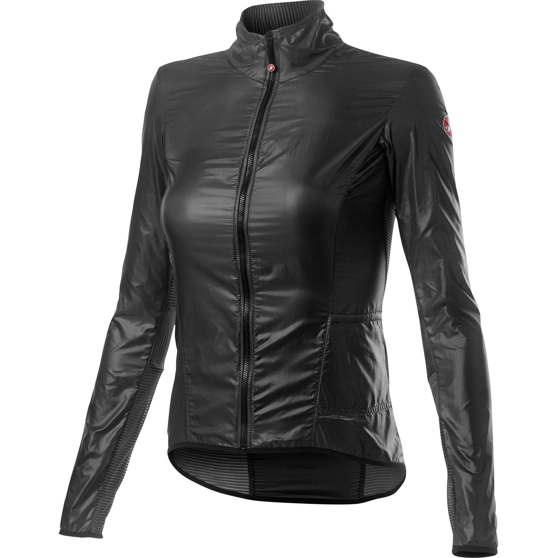 Castelli-Castelli Aria Shell Women's Jacket-Dark Gray-XS-CS200890301-saddleback-elite-performance-cycling