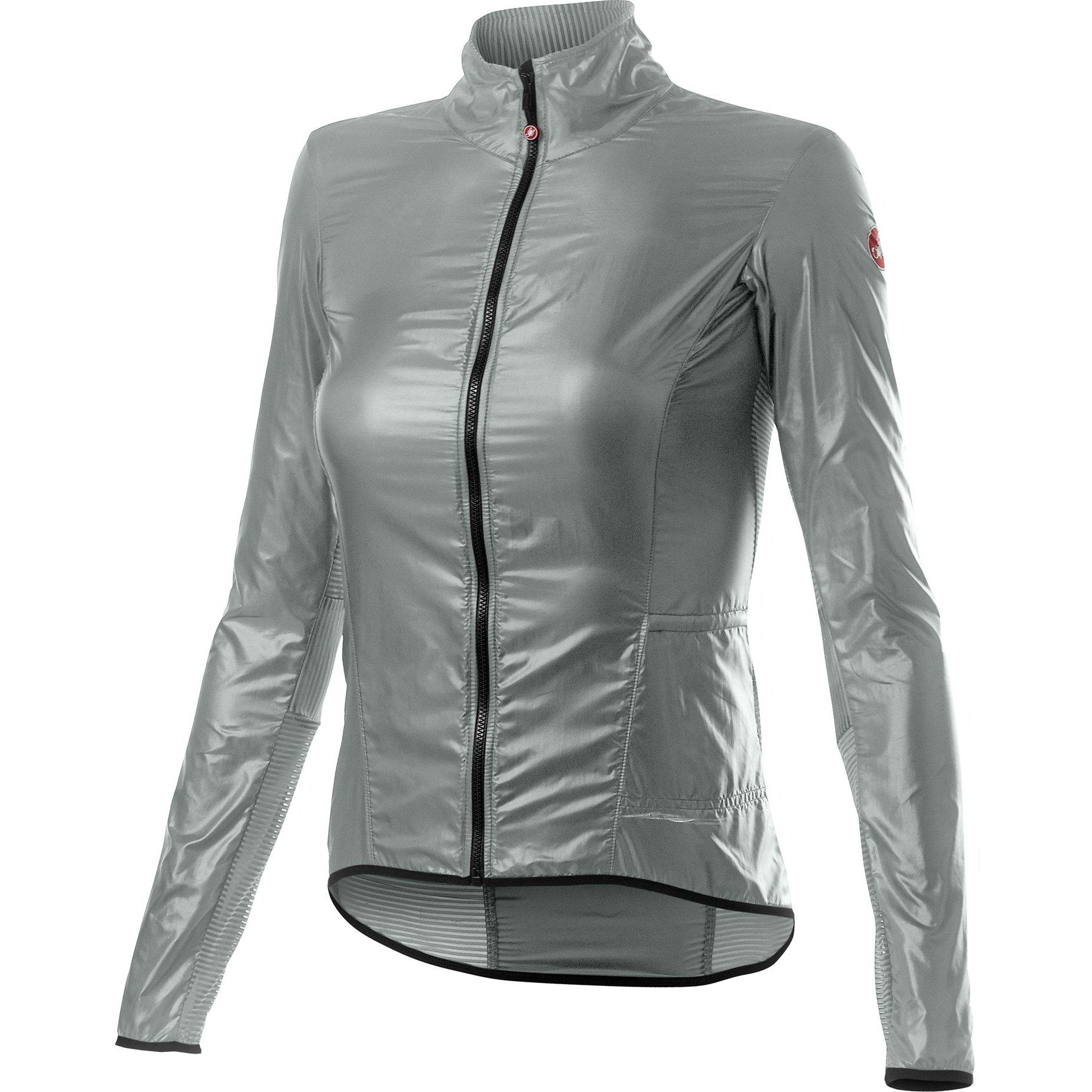 Castelli-Castelli Aria Shell Women's Jacket-Silver Gray-XS-CS200898701-saddleback-elite-performance-cycling