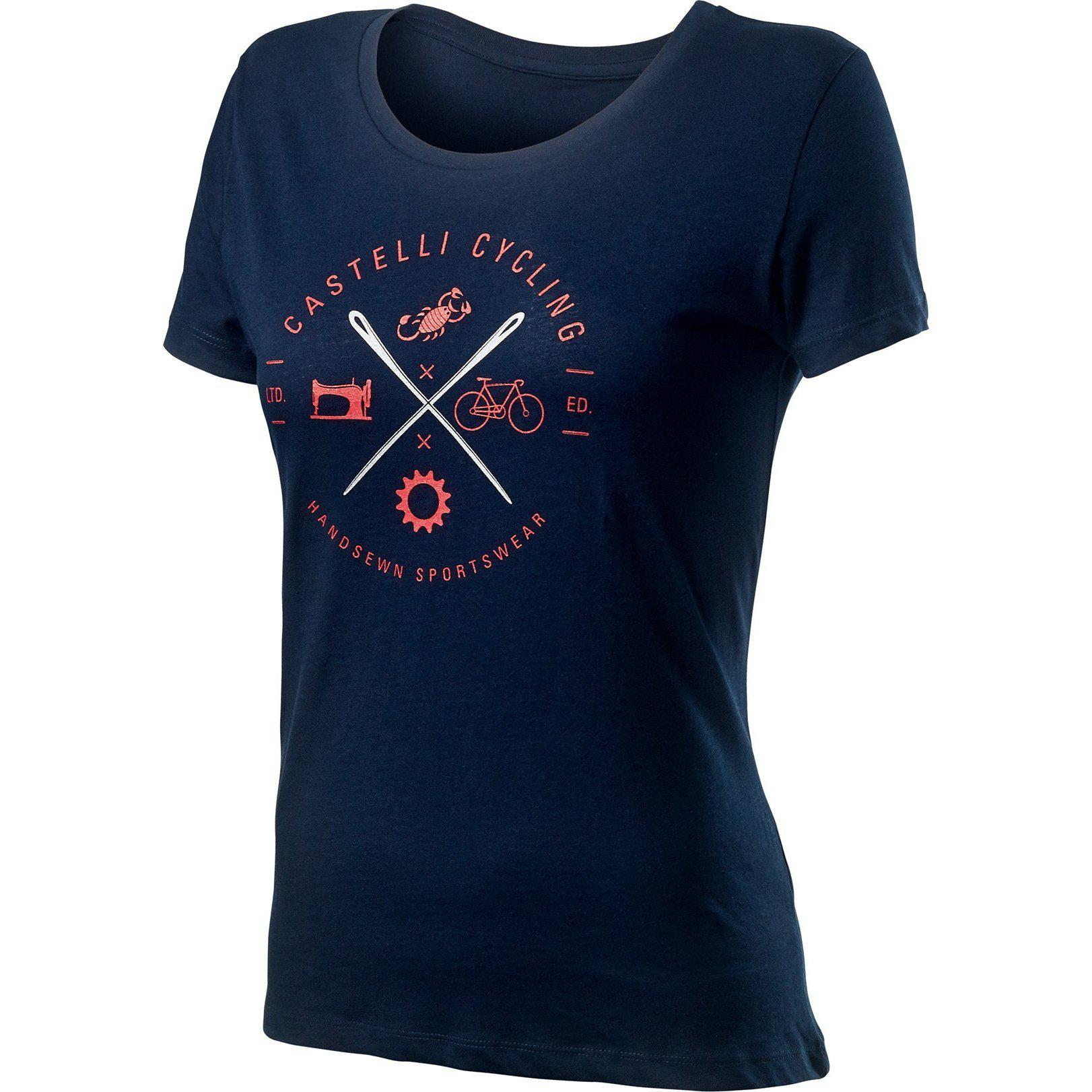 Castelli-Castelli Sarta T-shirt-Dark Infinity Blue-XS-CS201140411-saddleback-elite-performance-cycling