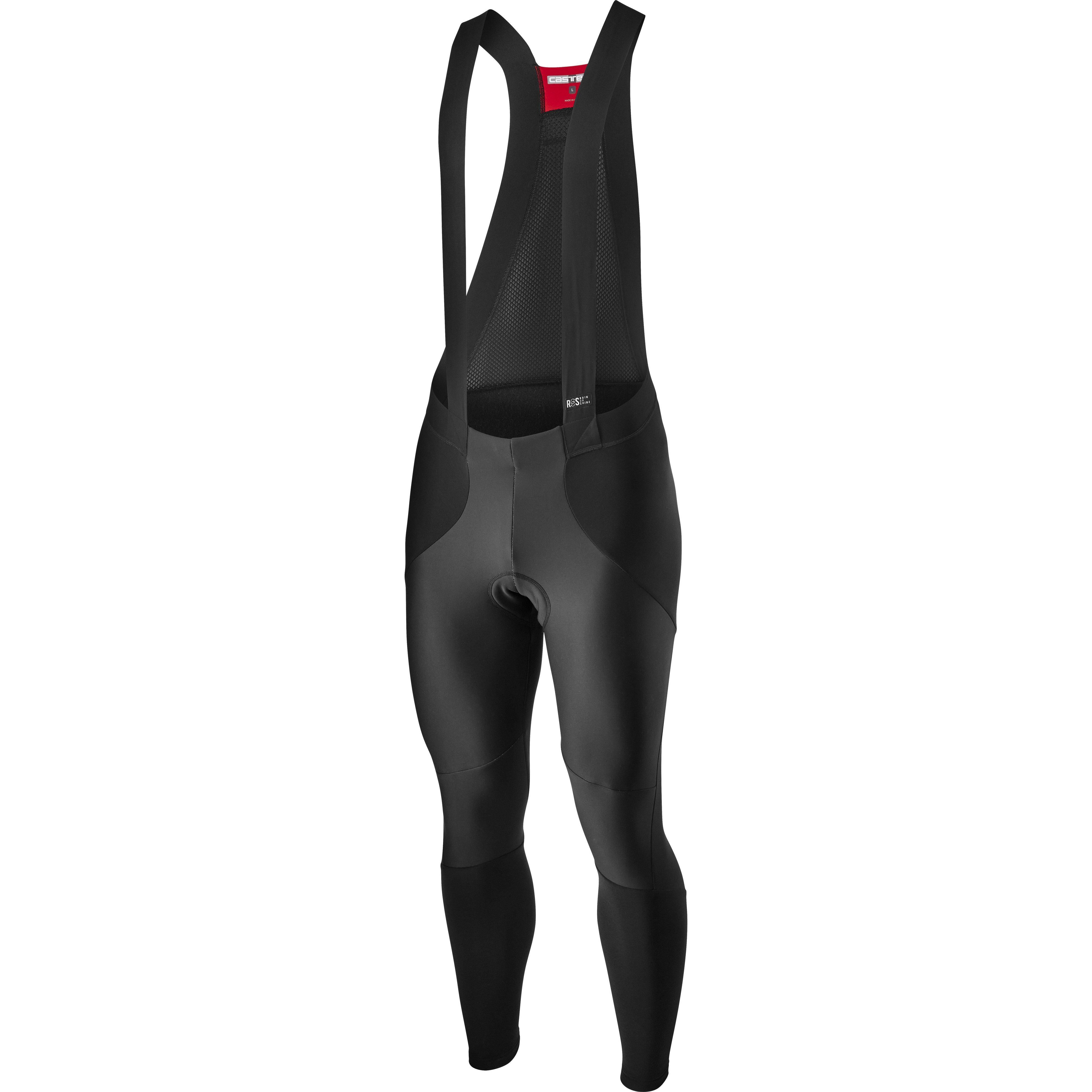 Castelli-Castelli Sorpasso RoS Wind Bibtights-Black-S-CS205250102-saddleback-elite-performance-cycling