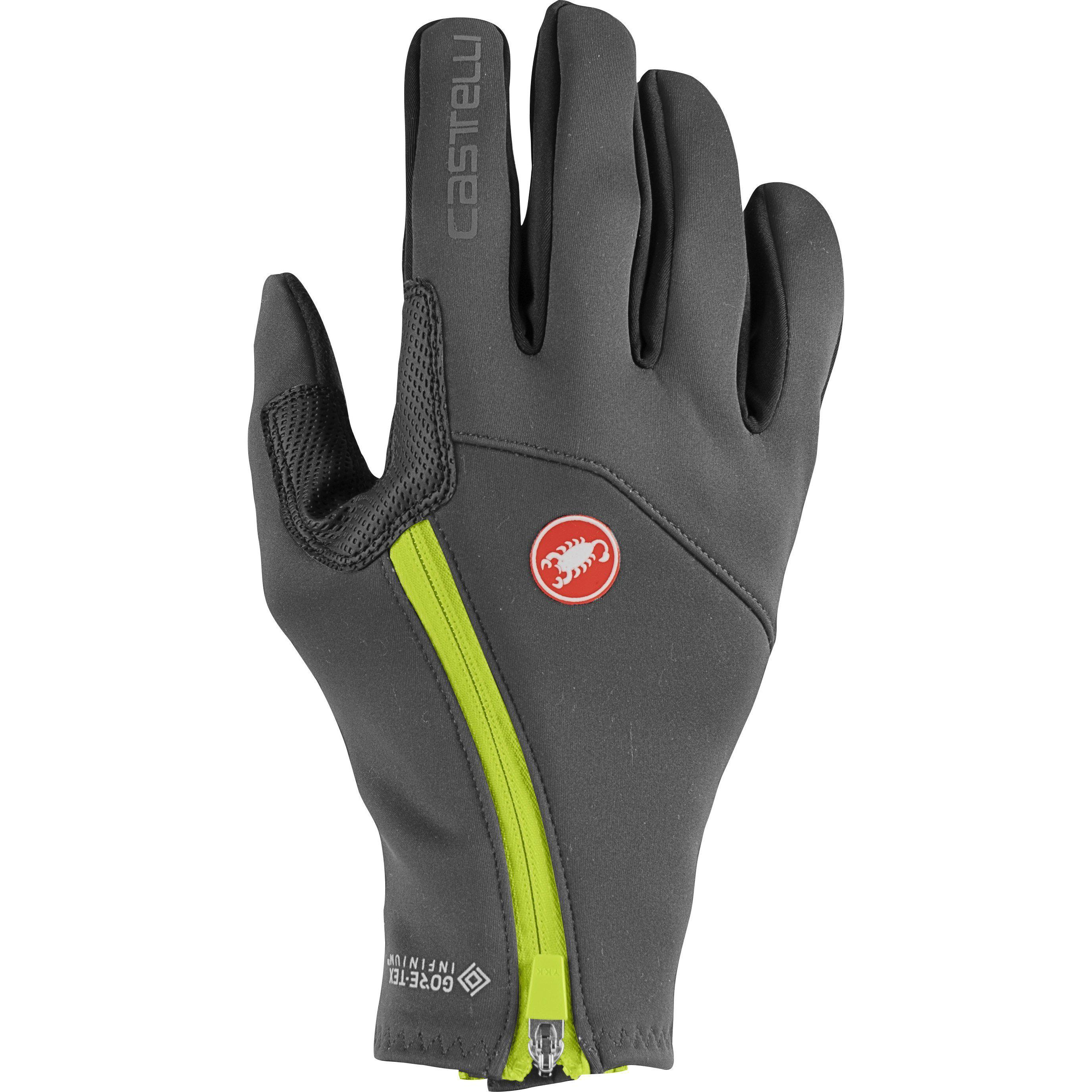Castelli-Castelli Mortirolo Glove-Dark Gray-XS-CS205330301-saddleback-elite-performance-cycling