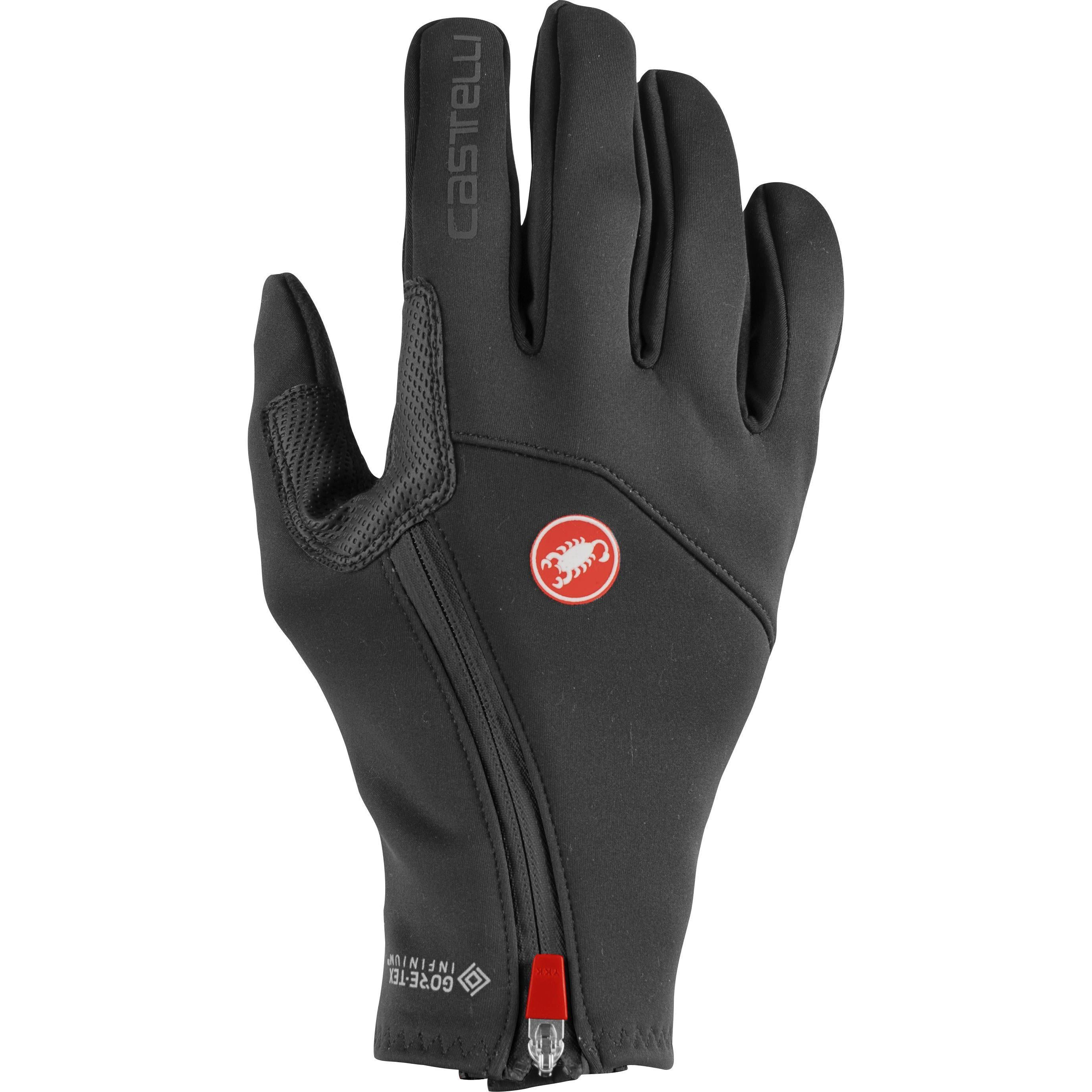 Castelli-Castelli Mortirolo Glove-Light Black-XS-CS205330851-saddleback-elite-performance-cycling